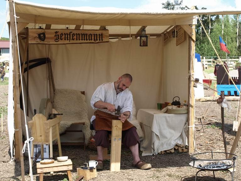 Sichel dengeln - Burgrieden 2011